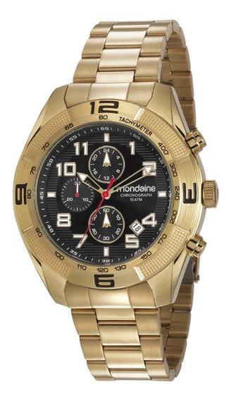 Relógio Mondaine Cronógrafo Masculino 48mm 83415gpmvds1