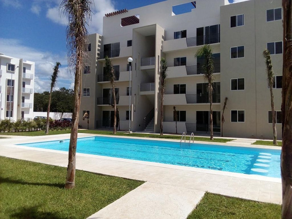 Se Renta Departamento 3 Hab Paseo De Los Olivos, Playa Del Carmen P3188