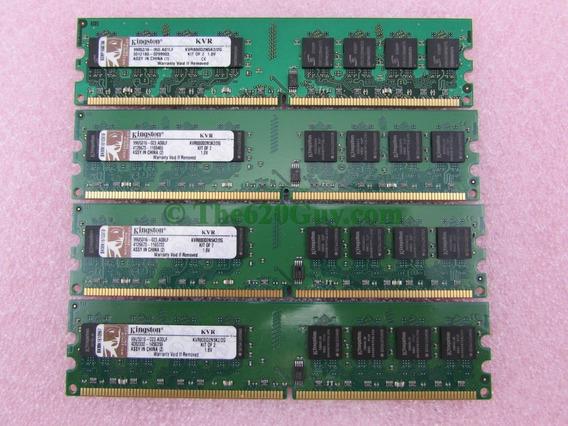 Memoria Ram Kingston Ddr2 Ddr-2 Pc2 2gb 2x1gb