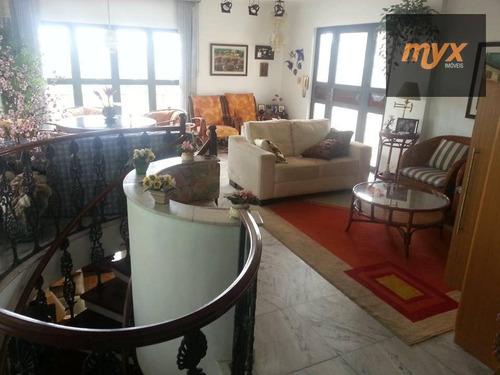 Cobertura Com 4 Dormitórios À Venda, 387 M² Por R$ 1.060.000,00 - Ponta Da Praia - Santos/sp - Co0002