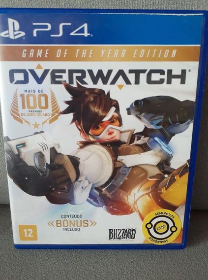 ( Frete R$ 9.90 ) Overwatch Português Ps4 Midia Física Cd