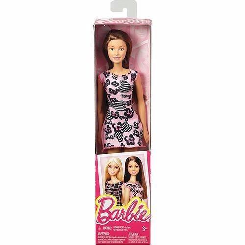 Brinquedo Novo Boneca Barbie Morena Unitária Mattel T7439