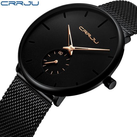 Promoção: Relógio Masc. Crrju 2150 Original Pronta Entrega