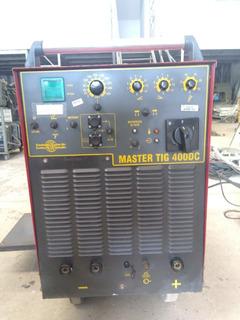 Máquina De Solda Master Tig 400dc Eutectic
