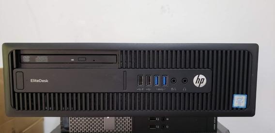 Hp Elitedesk 800g2 Sff Core I7 6700 3,4 Ghz 32gb Ssd240 1tb