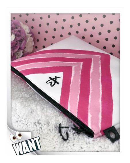 Victoria Secrets - Necessite Neoprene Branca & Pink