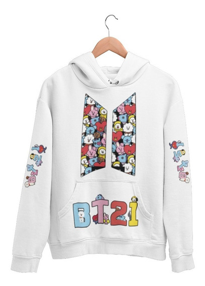 Sudadera Bts Bt21 Go Go Moda Coreana Kpop Ropa Afasany