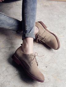 Zapatos Nuevos De Mujer, Color Beige