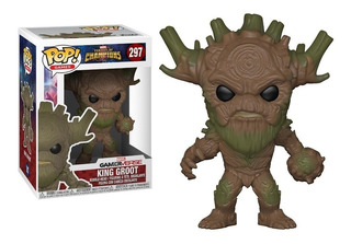 Funko Pop Games #297 Contest Of Champions King Groot Pata