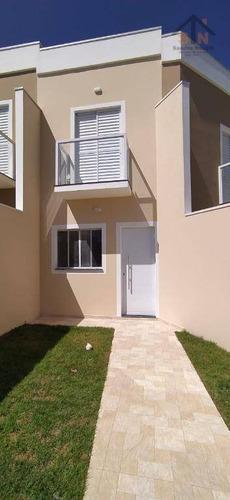 Sobrado Com 2 Dormitórios À Venda, 70 M² Por R$ 260.000 - Jardim América - Itaquaquecetuba/sp - So0237