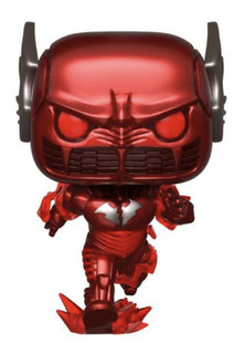 Figura Funko Pop Heroes Batman Metal - Red Death 283