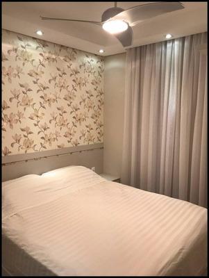 Apartamento Com 2 Dormitórios À Venda, 57 M² Por R$ 270.000 - Jardim São Carlos - Sorocaba/sp - Ap6048