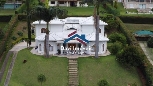 Luxuosa Casa Alto Padrão 5 Dormitórios, Em Condomínio Bragança Paulista - Di86