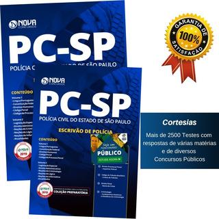 Apostila Pc Sp 2019 - Escrivão De Polícia Civil - Pc Sp