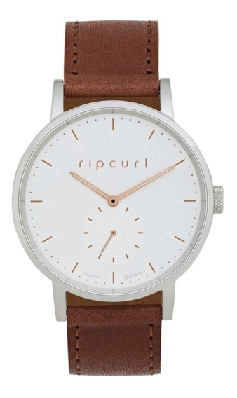 Relogio Rip Curl Circa Beer Buckle Leather Brown