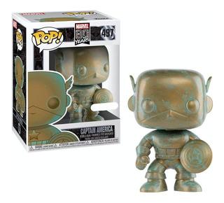 Figura Funko Pop Marvel 80th - Capitan America 497