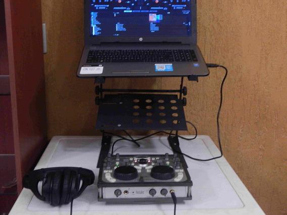 Base Laptop Dj Sound Barrier Nueva