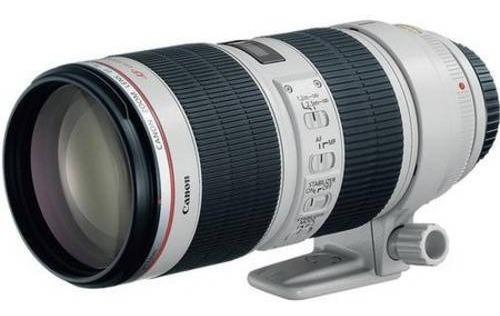 Imagem 1 de 2 de Lente Canon Ef 70-200mm F/2.8l Is Ii Usm