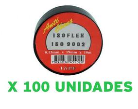 Fita Isolante Anti Chama Isoflex 19mm X 10m C/ 100 Unidades