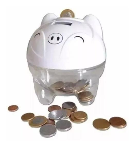 Cofre Cofrinho Poquinho Digital Pig Bank Conta Moeda 12x