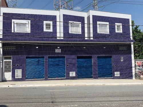 Salão Para Alugar, 60 M² Por R$ 1.800,00/mês - Vila Prudente - São Paulo/sp - Sl0137
