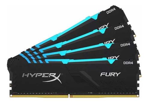 Memória Hyperx Fury Ddr4 16gb 3200mhz Com Rgb
