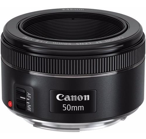 Lente Canon Ef 50mm F/1.8 Stm Motor Autofoco Garantia Brasil