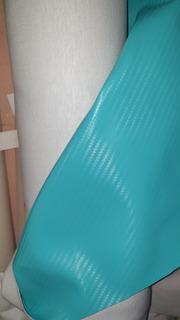 Tela Cuerina Nautica Diseño Fibra De Carbono