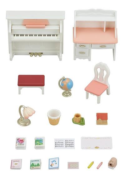 Brinquedo Conjunto Piano E Escrivaninha - Sylvanian Families