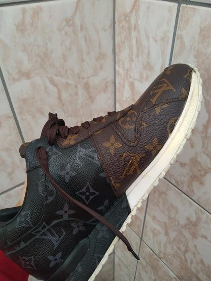 Tênis Louis Vuitton Run Away Sneaker 41/42 Importado