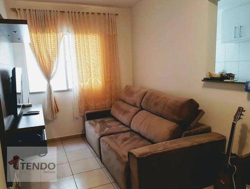 Imagem 1 de 19 de Apartamento Com 2 Dormitórios À Venda, 60 M² Por R$ 276.000,00 - Parque São Lourenço - Indaiatuba/sp - Ap2156