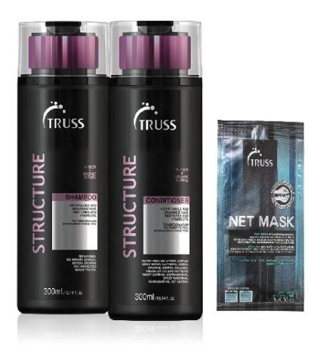Truss Structure Shampoo+ Condicionador 300ml
