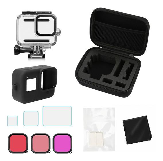 Kit De Acessórios Para Câmera Compatível Com Gopro Hero 8 Co