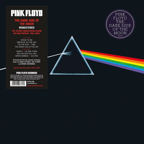 Vinilo Pink Floyd The Dark Side Of The Moon Lp Nuevo