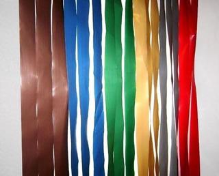Cortina De Tiras Plasticas Tipo Almacen Antimoscas 0,90 X 2m