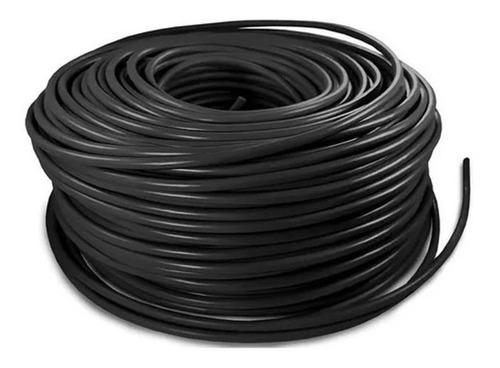 Imagen 1 de 1 de Cable Eléctrico Cca Calibre 8 Alucobre 100m Unipolar Negro