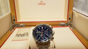 Relogio Omega Seamaster Diver 300m Chronograph