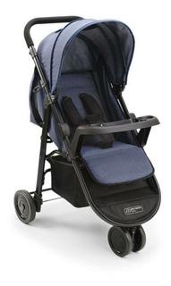 Carrinho Para Bebê 3 Rodas Agile Jeans Bb527 Multikids Baby