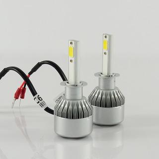 Kit Cree Led H1 C6 6ta Gen C/cooler Iluminacion Autos 4x4 Crled C6-h1-120