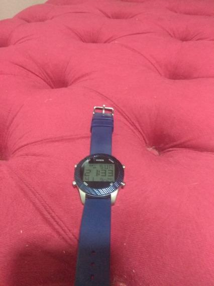 Relógio Guess Masculino Azul .607269