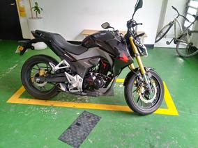 Honda Cbr190r 2018 Color Negro Con 16.500km