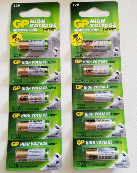 Bateria/pilha Gp Alcalina 12v High Voltage -original-100un.