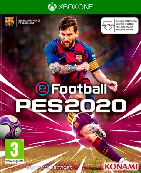 Pes 2020 Completo Em Português Br Xbox One Digital Offline + 3 Jogos