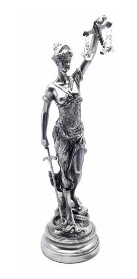 Dama Estatua De La Justicia Grande Ideal Regalo P/ Abogado