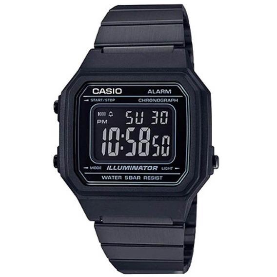 Relógio Casio Vintage Digital B650wb-1bdf Preto