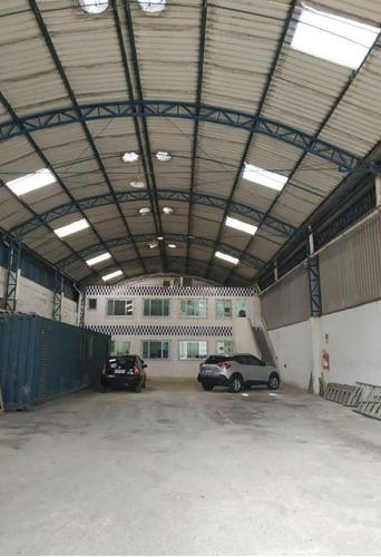 Imagem 1 de 23 de Galpão Para Alugar, 425 M² Por R$ 12.416,81/mês - Vila Matias - Santos/sp - Ga0001