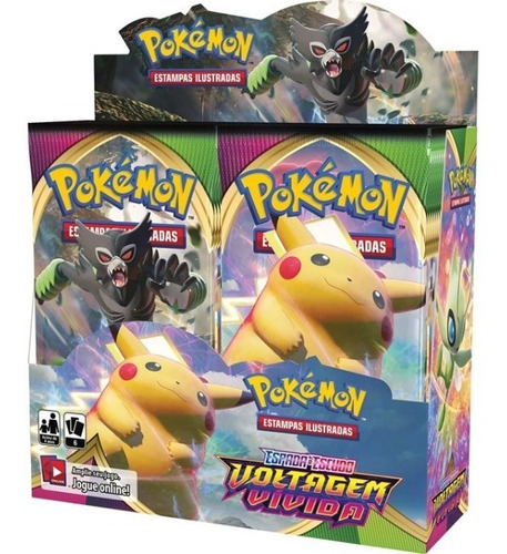 Booster Box Voltagem Vívida - Pokémon Tcg [ee4]