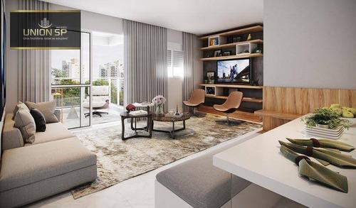 Imagem 1 de 12 de Apartamento Com 3 Dormitórios À Venda, 72 M² Por R$ 1.128.250,00 - Chácara Santo Antônio - São Paulo/sp - Ap45279