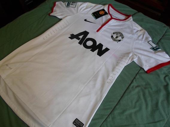 Camiseta Manchester United 2012/2014 Suplente Blanca Kagawa
