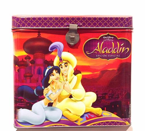Disney Aladdin Cofre Metálico